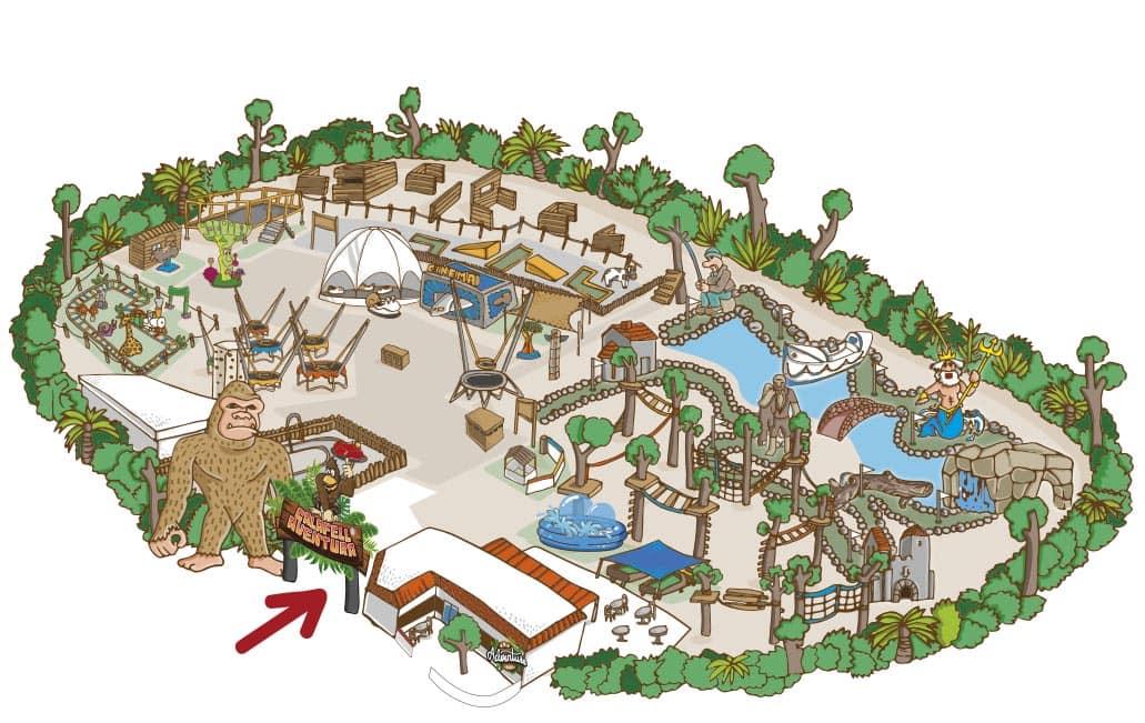 dibujo parque
